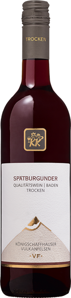 Kiechlinsbergen Vulkanfelsen Spätburgunder Rotwein Qualitätswein trocken