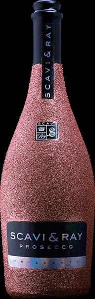 Scavi & Ray Prosecco Frizzante Bling-Bling-Edition Lachs