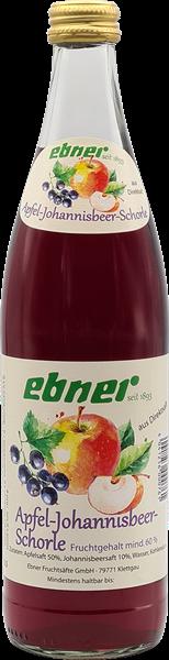 Ebner Apfel-Johannisbeer-Schorle aus Direktsaft