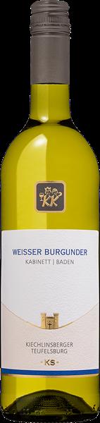 Kiechlinsberger Weisser Burgunder Teufelsburg Kabinett lieblich