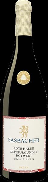 Sasbacher Rote Halde Spätburgunder Rotwein QbA mild
