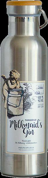 Markgräfler Milkmaid's Gin im Stahlkännchen