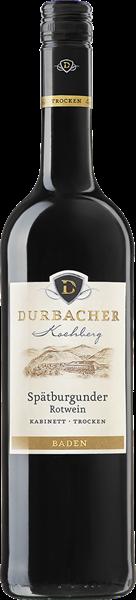 Durbacher Kochberg Spätburgunder Rotwein Qualitätswein trocken