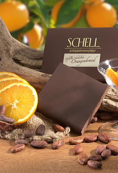 """Schell Gefüllte Schokolade """"Orangenbrand"""""""