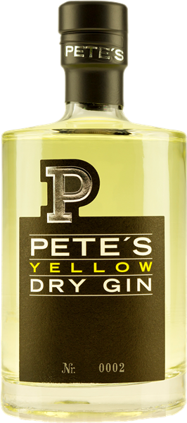 Pete's Yellow Dry Gin