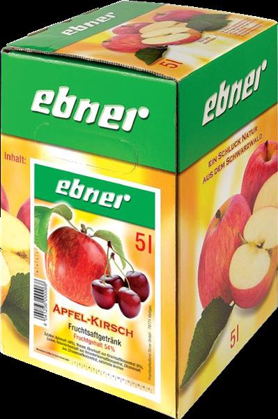 Ebner Apfel-Kirsch Fruchtsaftgetränk Bag-in-Box x