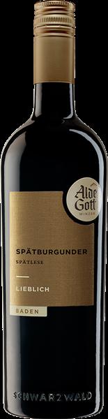 Alde Gott Spätburgunder Rotwein Spätlese lieblich