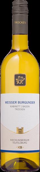 Kiechlinsberger Weisser Burgunder Teufelsburg Kabinett trocken