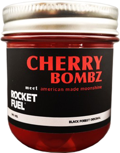 Rocket Fuel Cherry Bombz meet american made moonshine