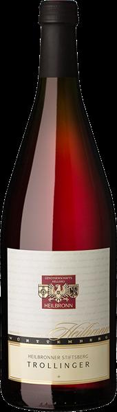 Heilbronner Stiftsberg Trollinger Qualitätswein mild