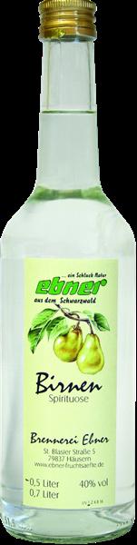 Ebner Birnen Spirituose