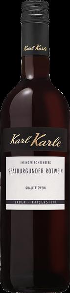 Karl Karle Ihringer Fohrenberg Spätburgunder Rotwein QbA