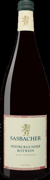 Sasbacher Spätburgunder Rotwein Qualitätswein mild