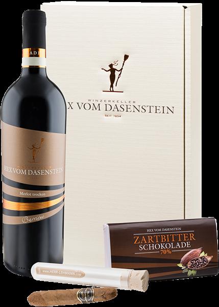 """Hex vom Dasenstein Weinpräsent """"Wein & Zigarre"""""""