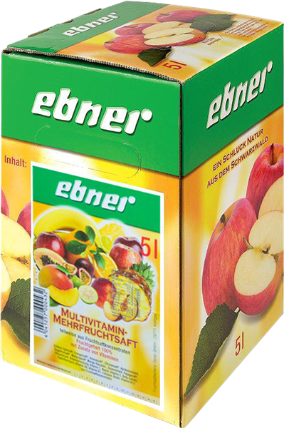 Ebner Multivitamin-Mehrfruchtsaft Bag-in-Box