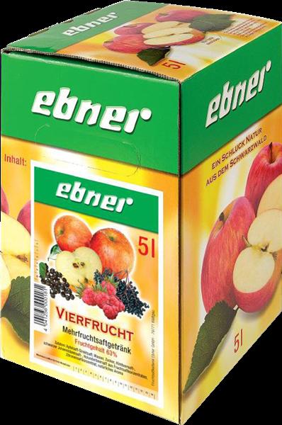 Ebner Vierfrucht Mehrfruchtsaftgetränk Bag-in-Box