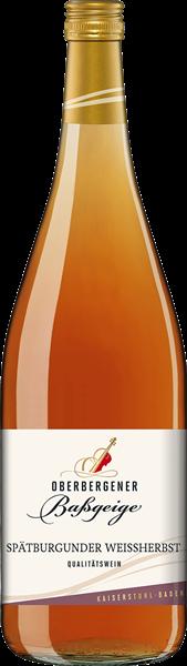 Oberbergener Spätburgunder Weißherbst Qualitätswein