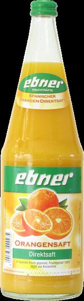 Ebner Spanischer Orangensaft Direktsaft