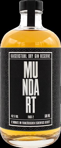 MUNDART Kaiserstuhl Dry Gin Reserve