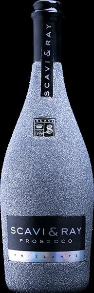 Scavi & Ray Prosecco Frizzante Bling-Bling-Edition Grau