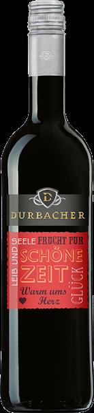 """Durbacher Rotwein """"Schöne Zeit"""" Qualitätswein mild"""
