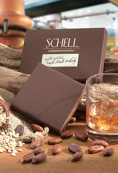 """Schell Gefüllte Schokolade """"Single Malt Whisky"""""""