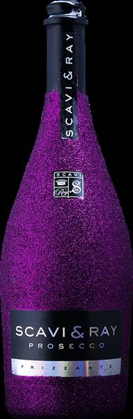 Scavi & Ray Prosecco Frizzante Bling-Bling-Edition Lila