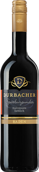 Durbacher Kollektion Spätburgunder Rotwein Qualitätswein lieblich
