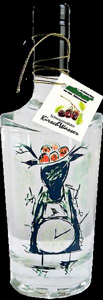 Schwarzwälder Kirschwasser - Design Schwarzwälder Kuckucksuhr