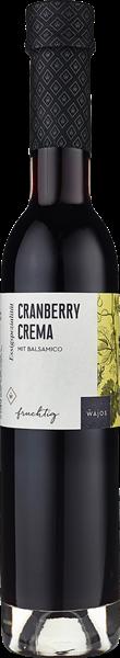 Wajos Cranberry Crema mit Balsamico