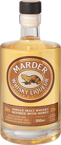 Marder Whisky Liqueur Refined with Honey