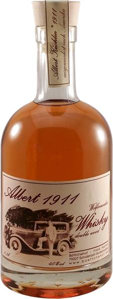 "Wolfenweiler Whisky ""Albert 1911"" double wood"