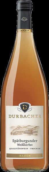 Durbacher Spätburgunder Weißherbst Qualitätswein trocken