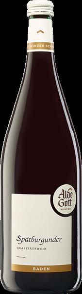 Alde Gott Spätburgunder Rotwein Qualitätswein halbtrocken