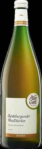 Alde Gott Spätburgunder Weißherbst Qualitätswein halbtrocken