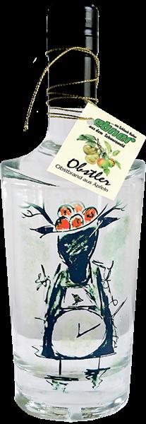 Obstler - Design Schwarzwälder Kuckucksuhr
