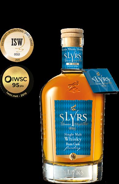 Slyrs Single Malt Whisky Rum Cask Finish