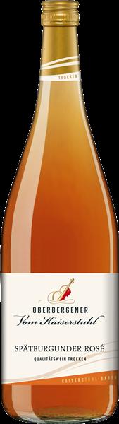 Oberbergener Spätburgunder Rosé Qualitätswein trocken